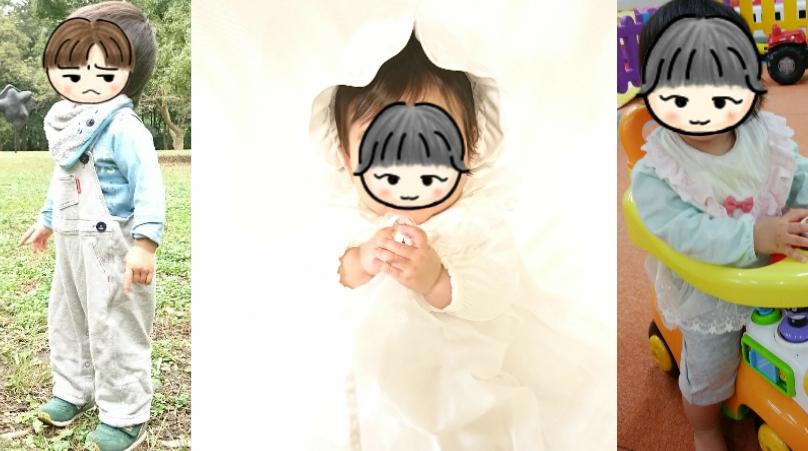 赤ちゃんの1年間の洋服選び