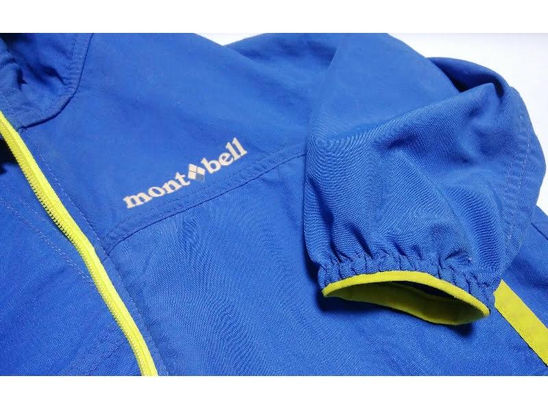 モンベルO.D.パーカ ベビー80サイズは袖口がゴム