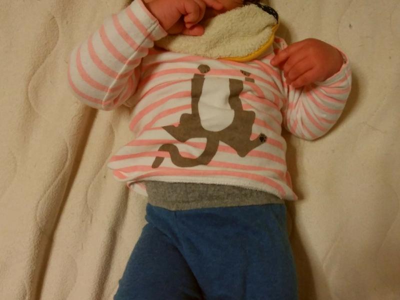 赤ちゃん本舗のcocupaのパジャマのボトムは、お腹をしっかりガード