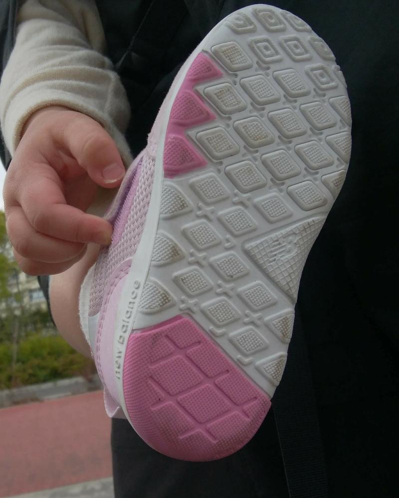 ニューバランス313のファーストシューズの靴底