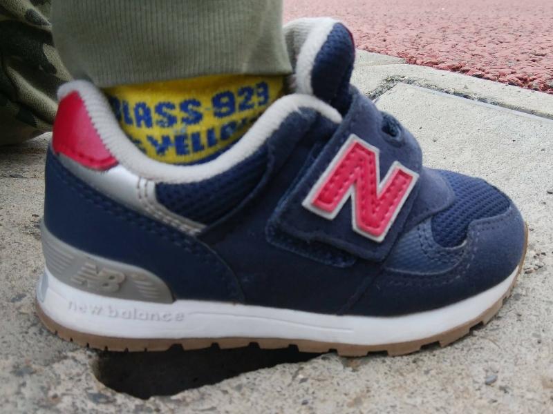 ニューバランス313シリーズは靴底が厚い