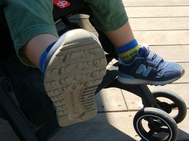 ニューバランス313の靴底はグリップ力が強い作り