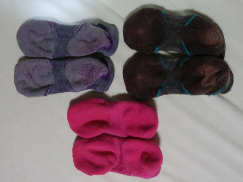 3年以上前に購入したスマートウールの靴下3足